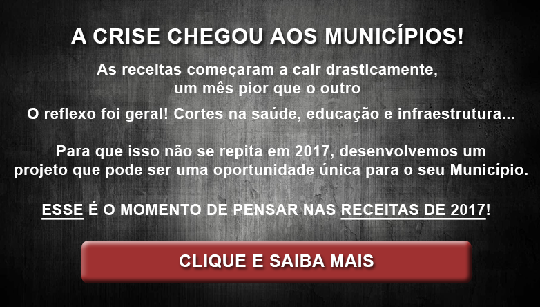 PROJETO RECEITAS MUNICIPAIS 2017 BANNER