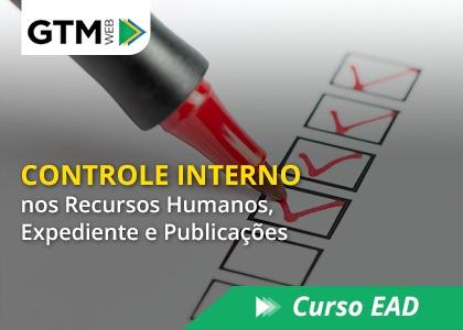 Controle Interno nos Recursos Humanos, Expediente e Publicações